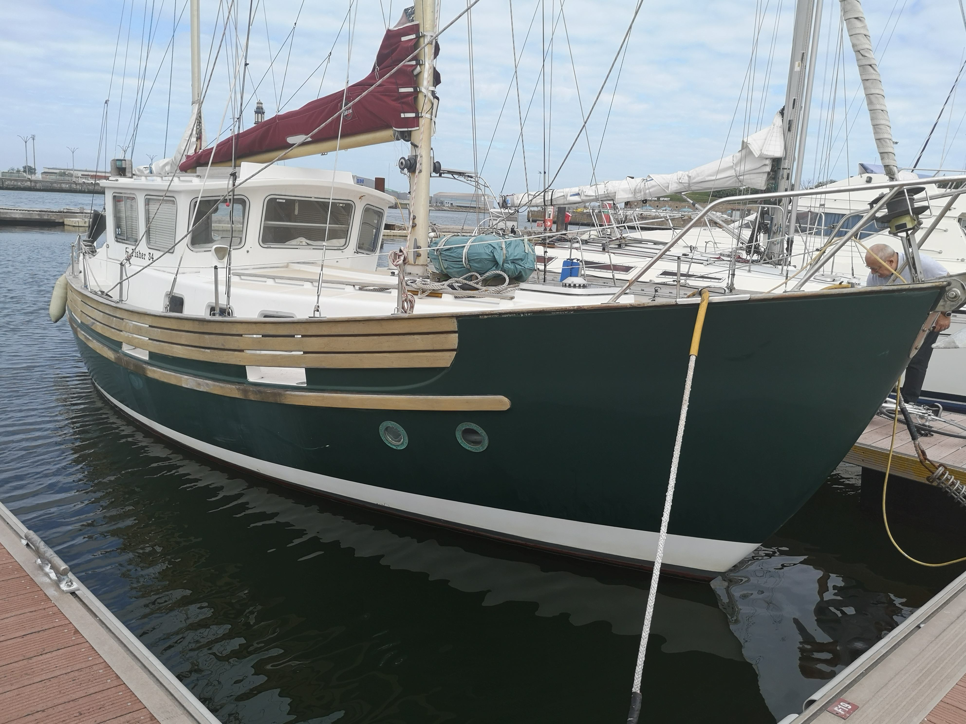 Fisher 34 - Schnaps